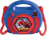 Marvel Spider-Man CD-spiller med Mikrofon