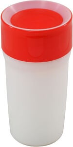 LiteCup Kopp m Nattlampe 330ml, Royal Red