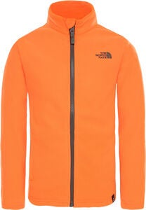 The North Face Snow Quest Full Zip Fleecejakke, Power Orange