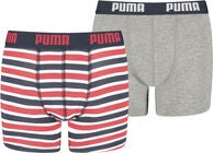 Puma Basic Boksershorts 2-Pack, Ribbon Red