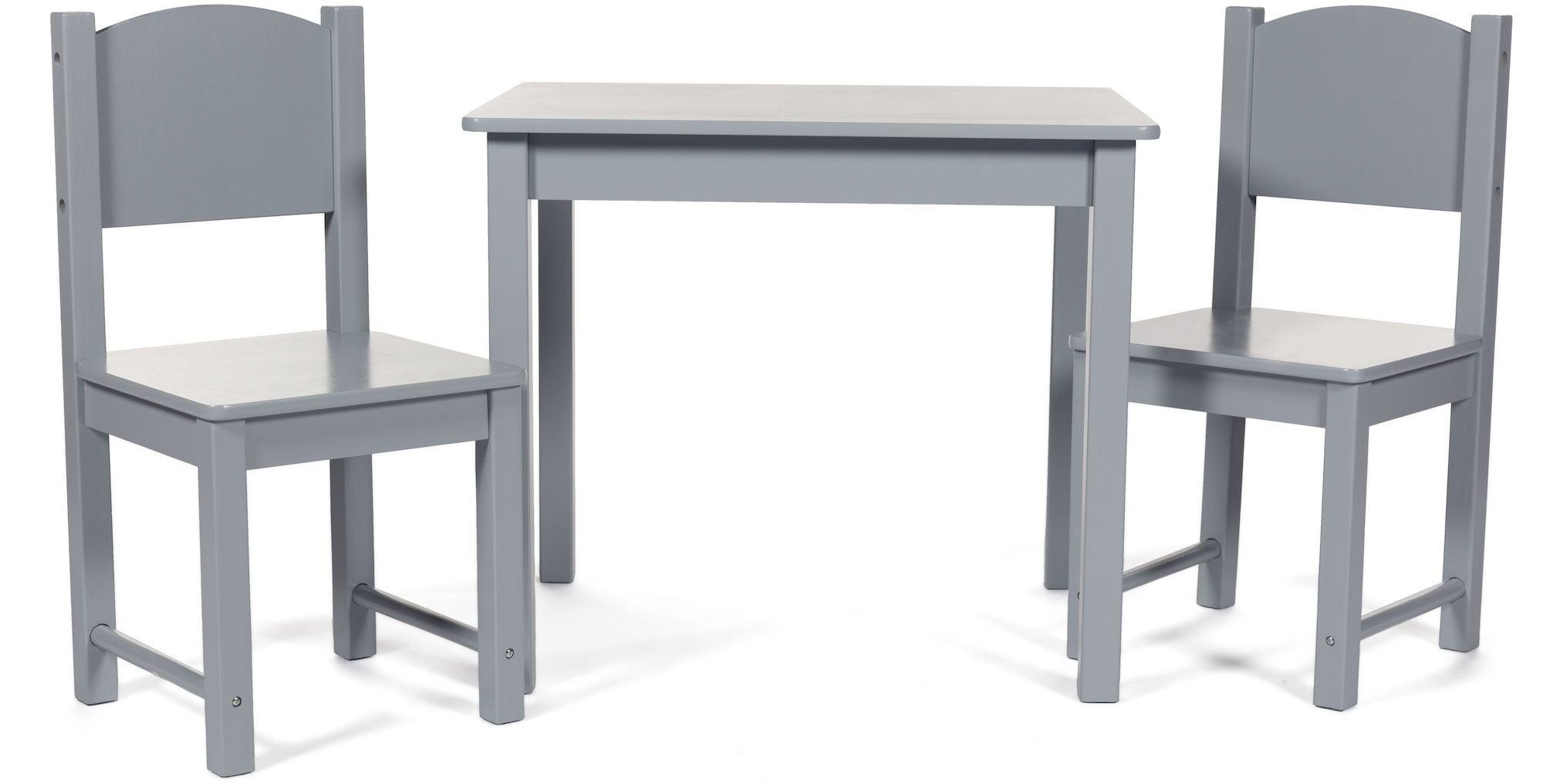 Kjøp Woodlii Bord med 2 stoler tre | Jollyroom