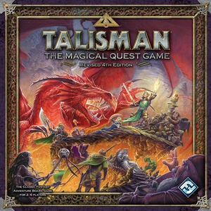 Talisman 4th Edition Brettspill