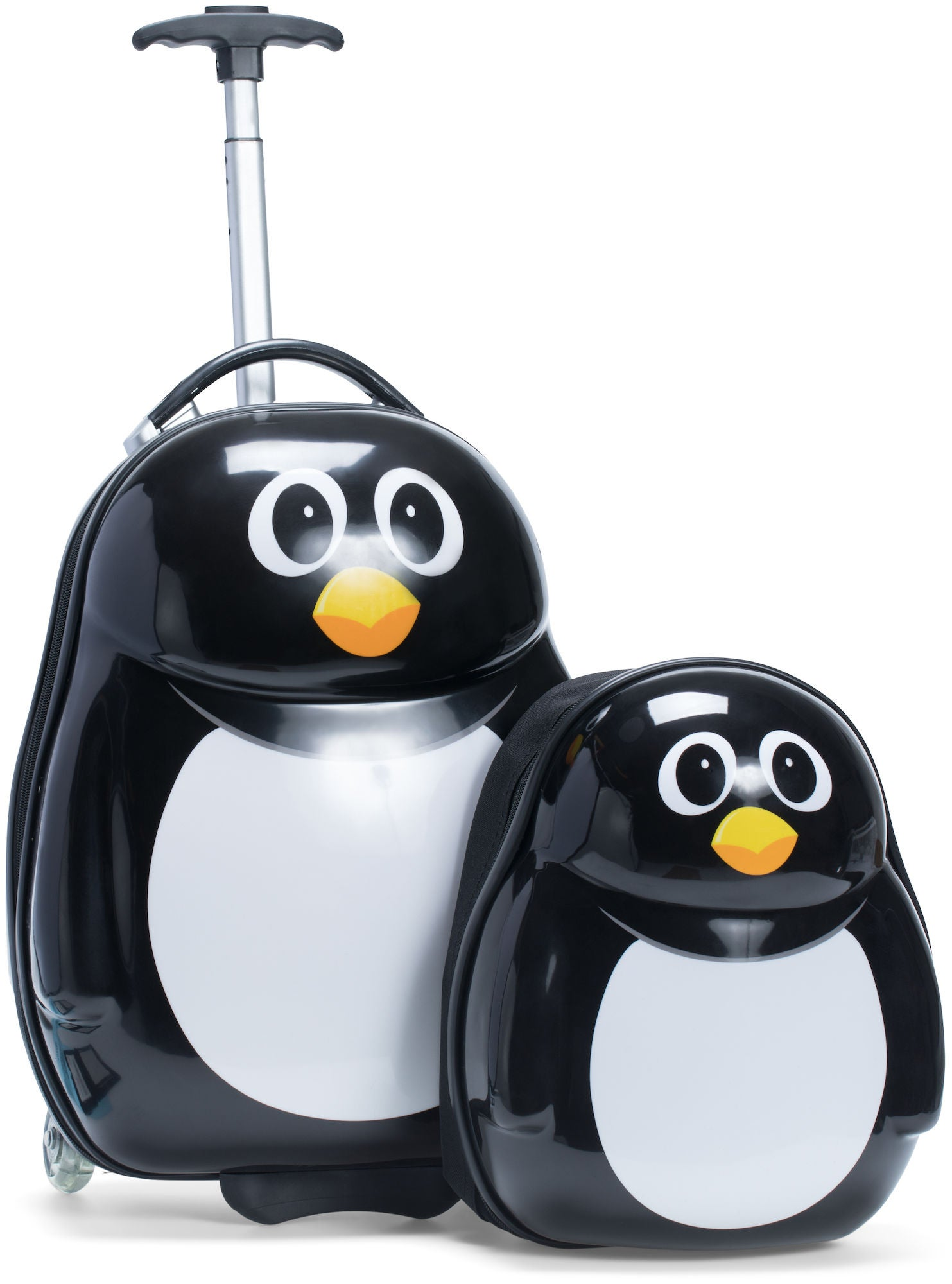 KID zoo Trillekoffert/Ryggsekk, Pingvin