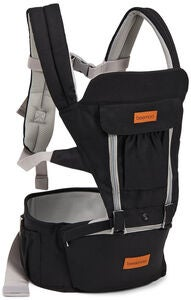 Beemoo Carry Comfort Adjust Bæresele, Black