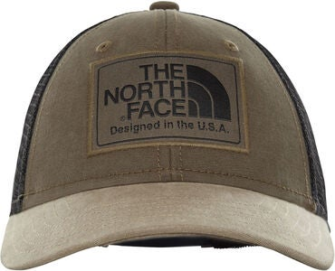 The North Face Mudder Trucker Caps, New Taupe Green/Tnf Black