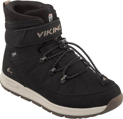 Viking Fosser GTX Vintersko, Black/Grey