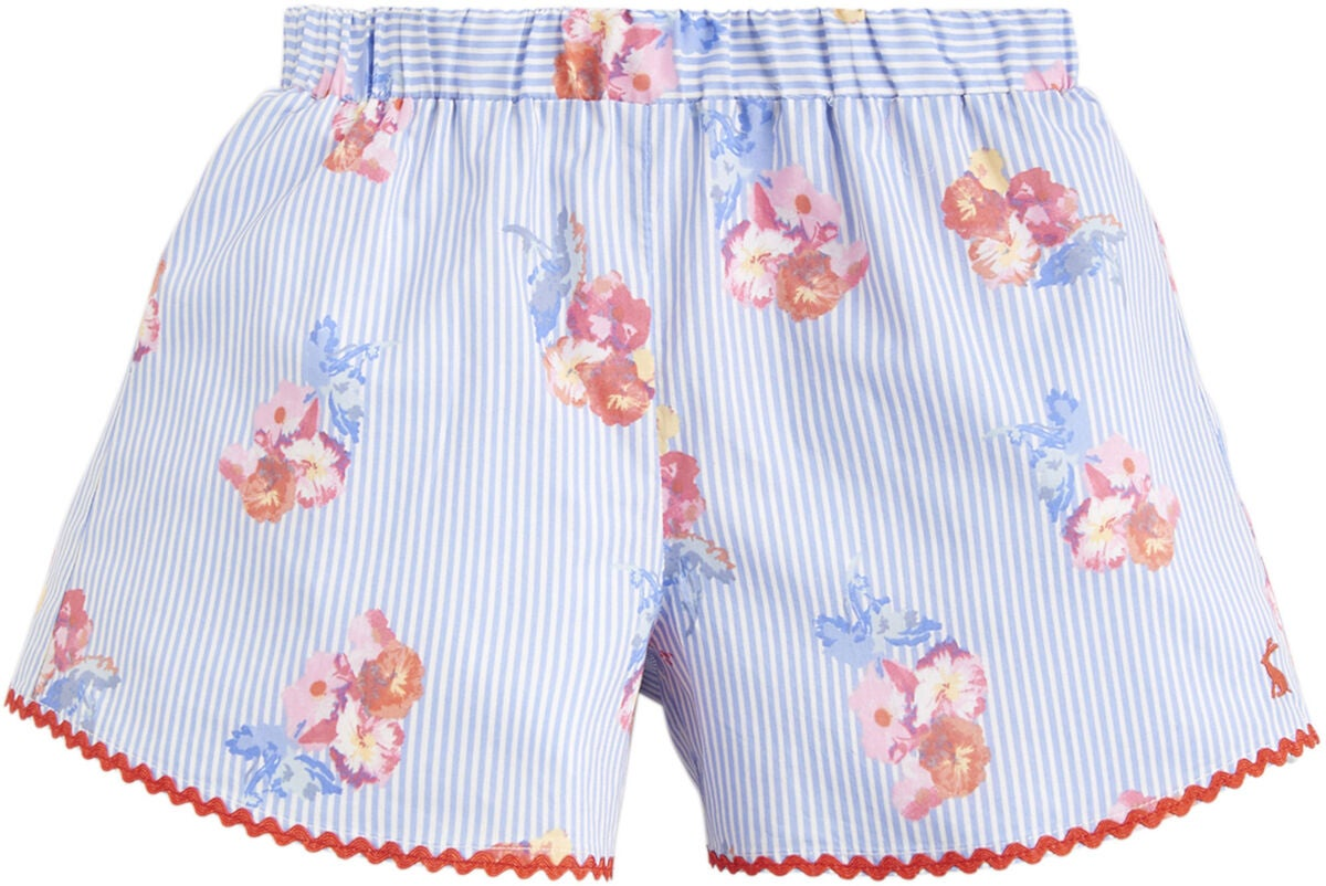 Tom Joule Shorts, Blue Floral Stripe