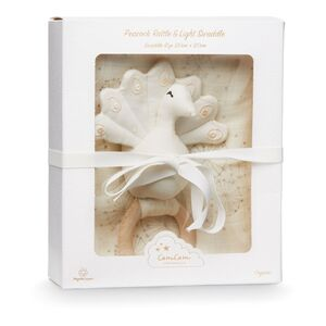 Cam Cam Copenhagen Giftbox Swaddle, Dandelion Natural