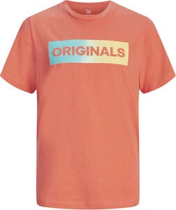 Jack & Jones Towns T-Shirt, Persimmon