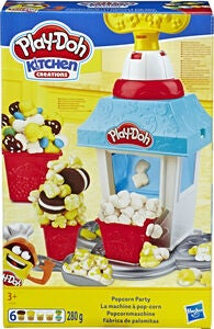 Play-Doh Lekeleire Popcornparty