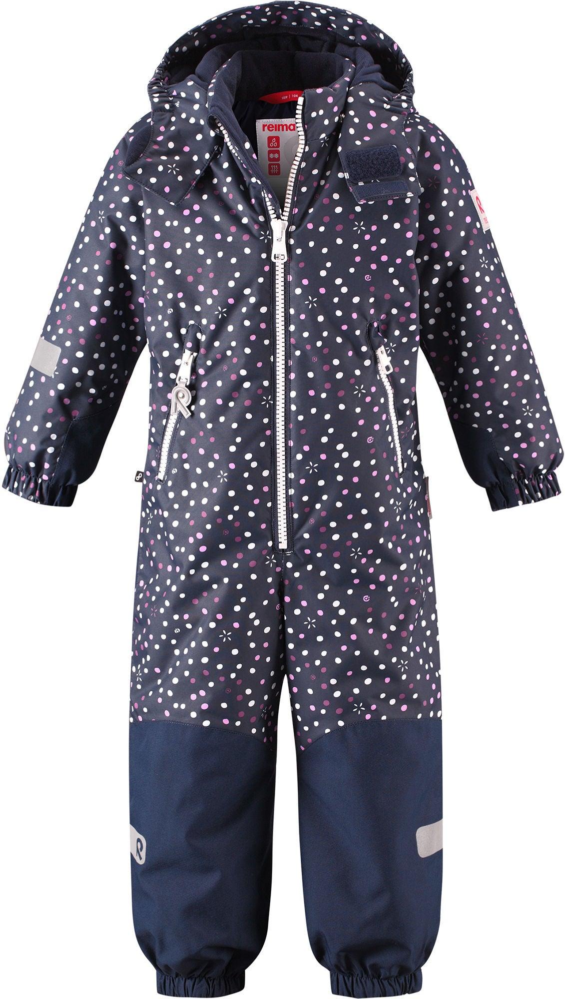 Reimatec Kiddo Snowy Dress, Navy 92