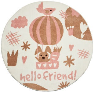 Alice & Fox Gulvteppe Hello Friend 120 cm