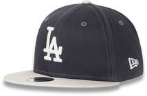 New Era League Essential 950 KIDS LOS Kaps, Graphite/Off White