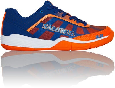 Salming Falco Kid Sportssko, Blue/Orange