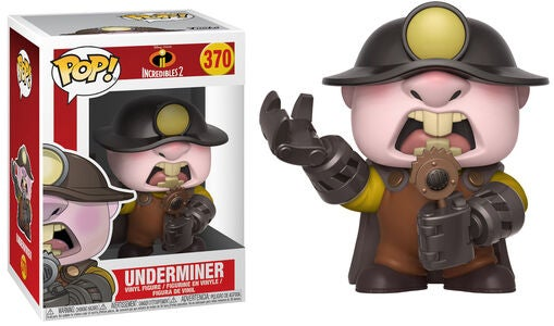 POP! Disney The Incredibles 2 Samlefigur Underminer