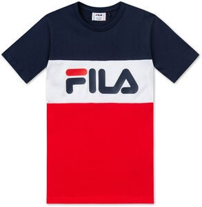 FILA Classic Day Blocked T-Shirt, Black Iris