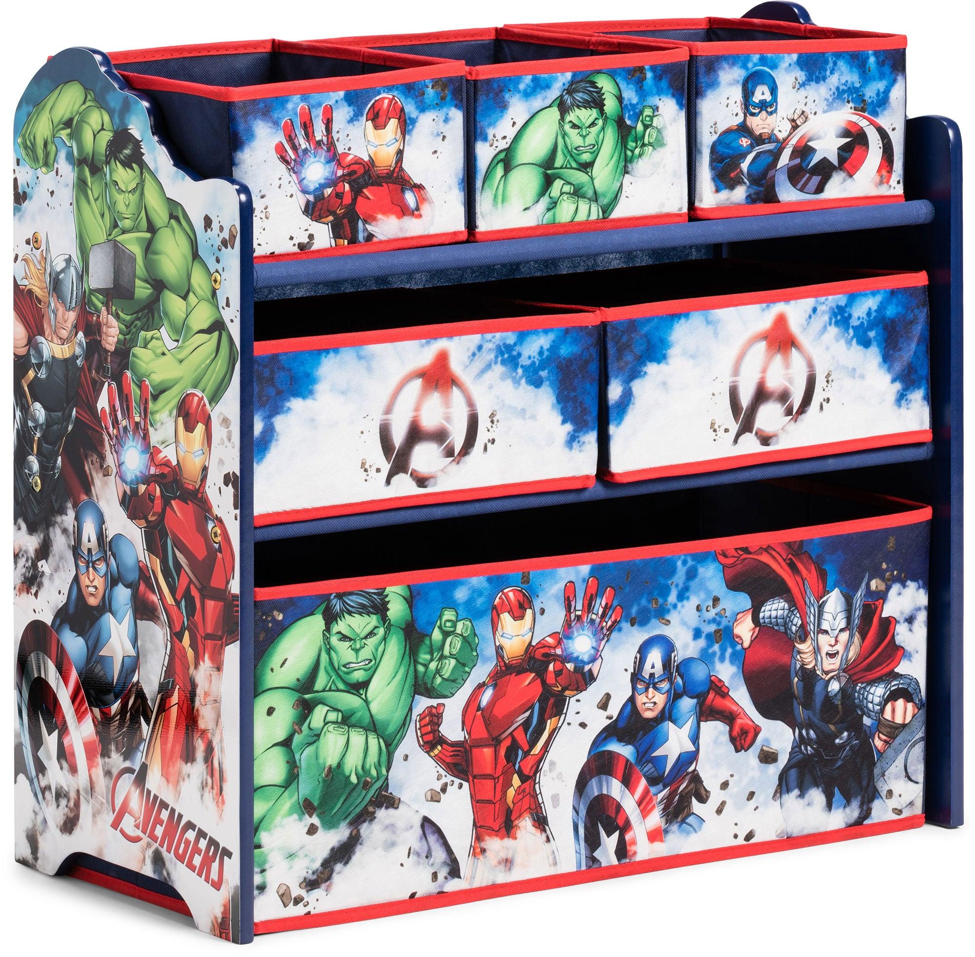 Avengers Oppbevaringshylle 6 Skuffer Tre