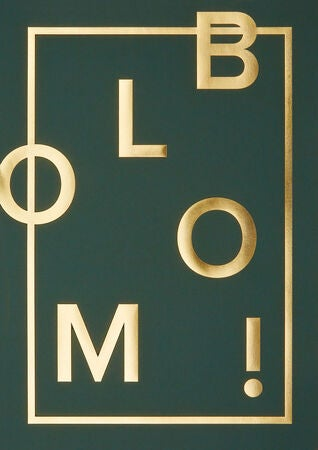 I Love My Type Poster Bloom, Grønn