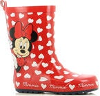 Disney Minni Mus Gummistøvel, Red
