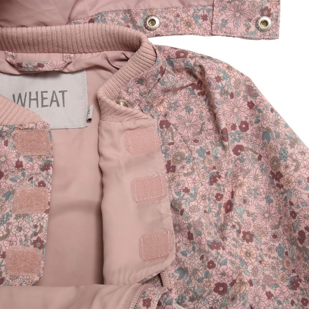 Kjøp Wheat Silva Jakke, Rose Flowers   Jollyroom