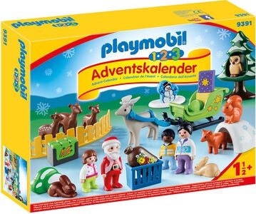 Playmobil 9391 Adventskalender 1.2.3 Jul I Skogen