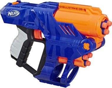 Nerf Elite Shellstrike Blaster DS-6