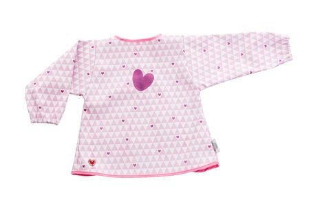 Baby to love Smekke Med Ermer, Pink Heart