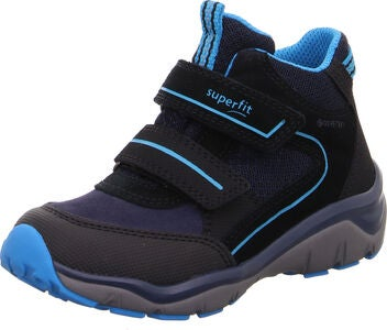 Superfit Sport5 GTX Sneaker, Black/Blue