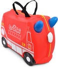 Trunki Frank The Firetruck Trillekoffert 18L, Red