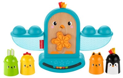 Fisher-Price Stack and Rattle Birdie Aktivitetsleke