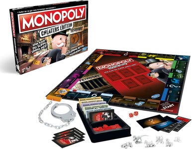 Hasbro Monopol Spill Cheaters Edition