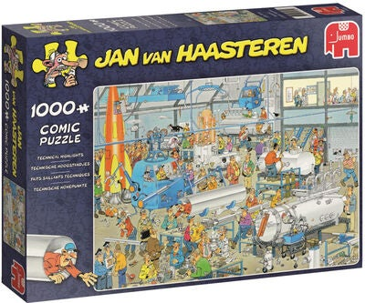 Jumbo Puslespill Jan van Haasteren Technical Highlights 1000
