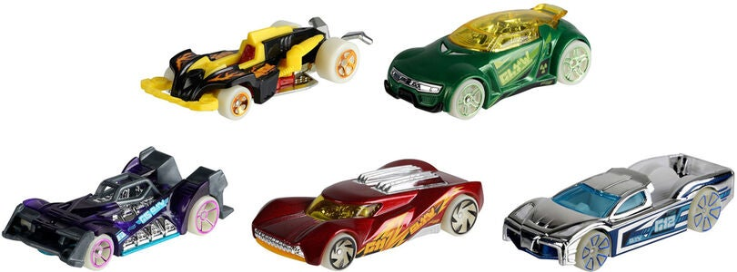 Hot Wheels BilSett 5-pack