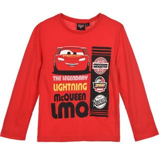 Disney Cars T-Shirt, Rød