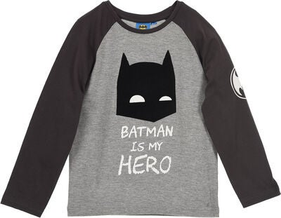 Batman Langermet T-Skjorte, Dark Grey