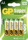 GP Batterier Super Alkaline AA 15A LR6 4-pack