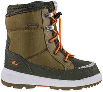Viking Fun GTX Vintersko, Khaki/Hunting green