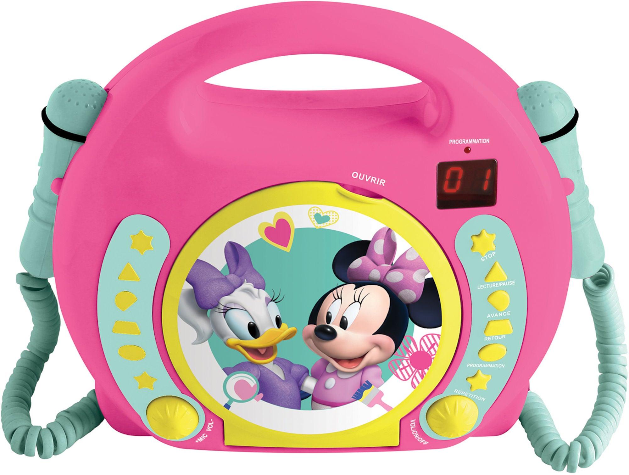Disney Minni Mus CD-spiller med Mikrofon