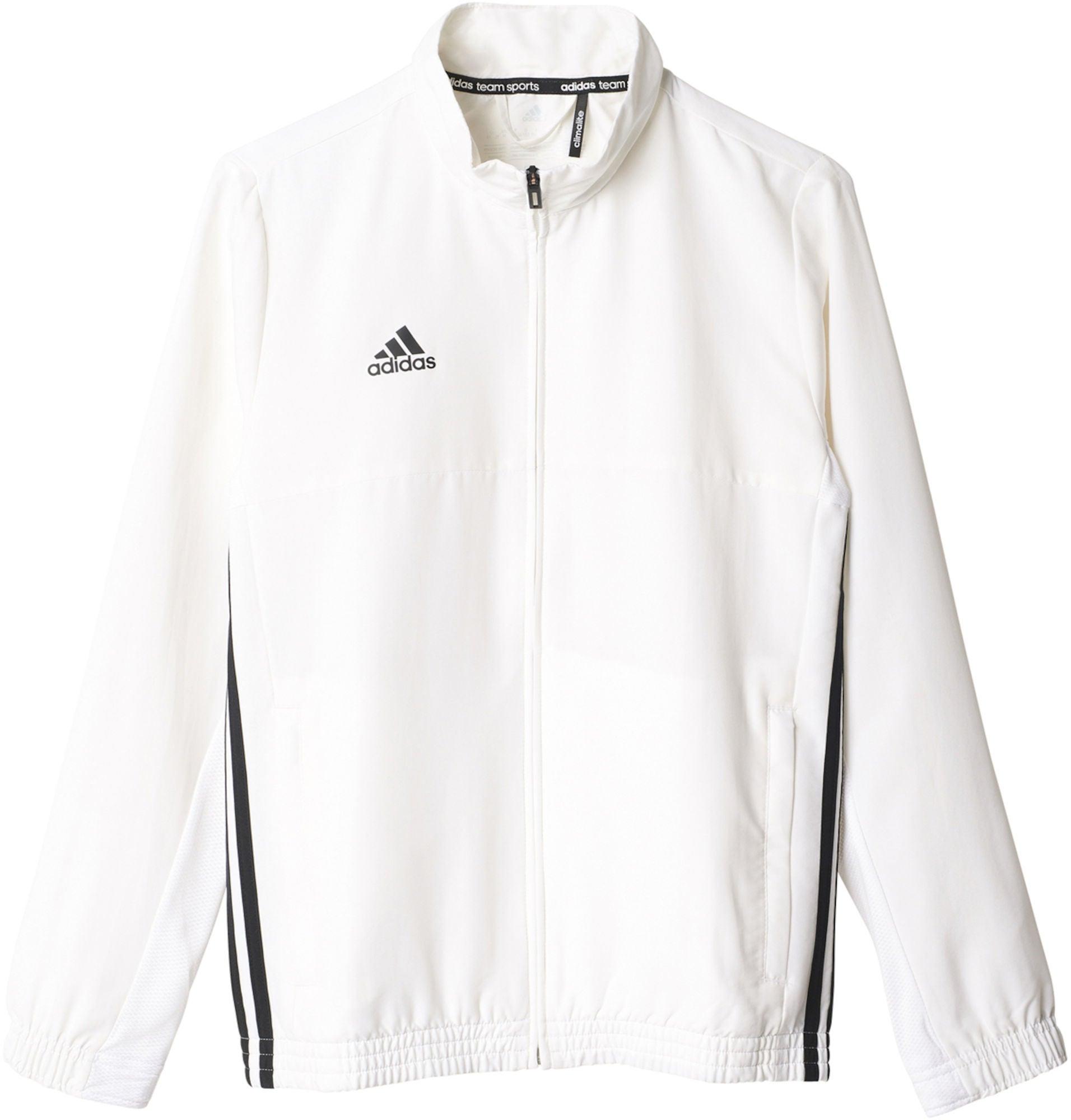 Kjøp Adidas T16 Team Jacket Y Treningsjakke, White | Jollyroom
