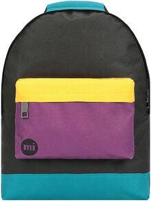 69e3be0d Mi-Pac Mini Colour Block Ryggsekk, Black/True Plum