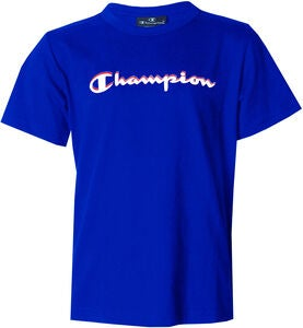 Champion Kids Crewneck T-Shirt, Surf the Web Blue