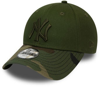 New Era Camo 9FORTY KIDS NEYYAN Kaps, New Olive Woodland Camo