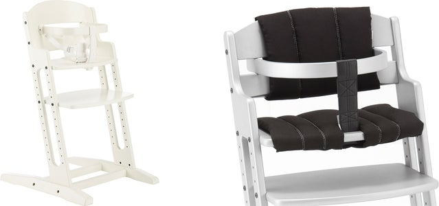 Leander tripp trapp stol inkl bøyle Svart