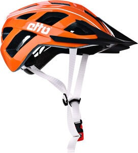 Etto Champery Jr MIPS Sykkelhjelm, Orange/White