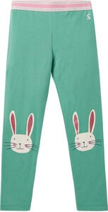 Tom Joule Wilde Leggings, Green Bunny Knee