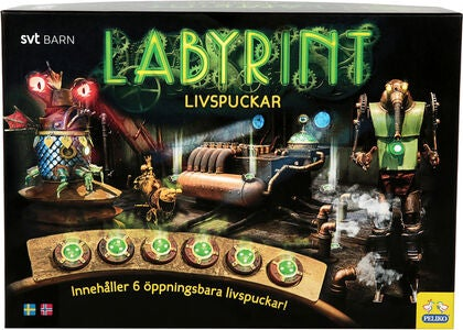 Labyrint Spill Livspucker