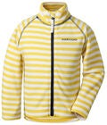 Didriksons Monte Fleecejakke, Yellow Simple Stripe