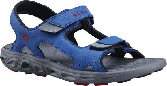 Columbia Children's Techsun Sandal, Stormy Blue/Red