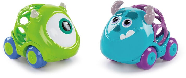 Oball Disney Monsters INC Biler 2-pack