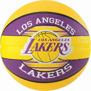 Spalding Basketball Team Ball Los Angeles Lakers